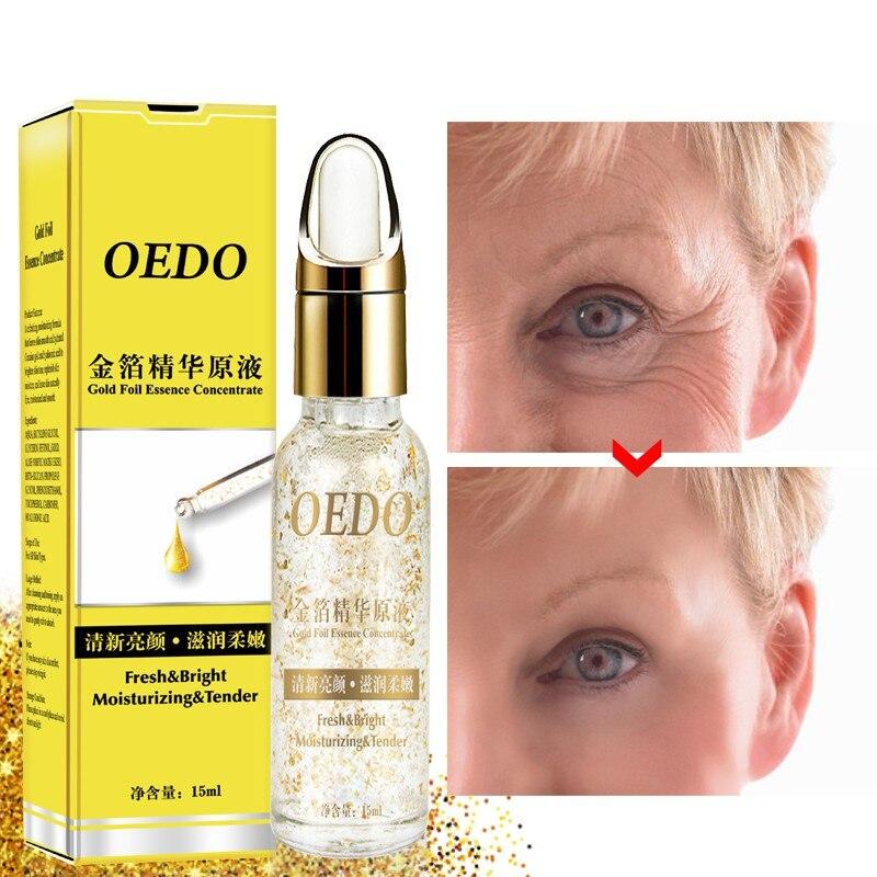 Renews Skin Collagen Facial Eye Serum Skin Care 24k Gold Anti Wrinkle Collagen Anti-drying Moisturizing Hyaluronic Acid Serum