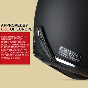 Image 4 - TORC T57  vintage helmet motorcycle open face 3/4 helmet inner visor motocross jet retro capacete casque moto helmet ECE