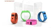 2015 New Arrive Waterproof bluetooth 4.0 BL06 health sports smartband wireless bracelet watch sleep