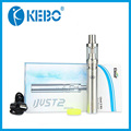 Original eleaf ijust starter kit 2 acabo de 2 cabeza bobina atomzier 5.5 ml flujo de aire ajustable 0.3ohm eleaf ijust2 2600 mah de la batería