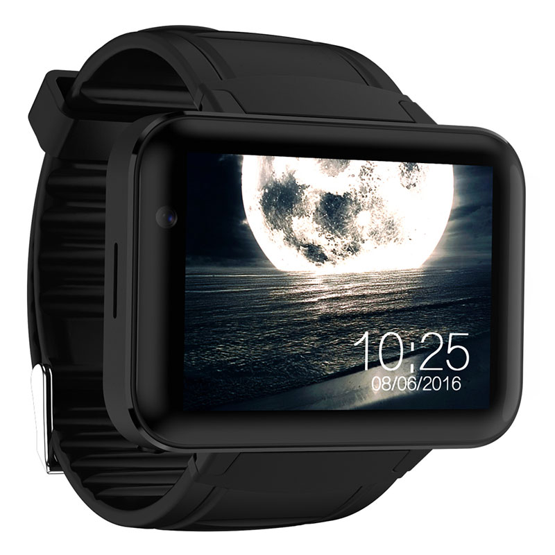 Tezer DM98 Bluetooth Smart Watch 2.2 inch Android 4.4 OS 3G Smartwatch Phone MTK6572A Dual Core 1.2GHz 4GB ROM Camera WCDMA GPS стоимость