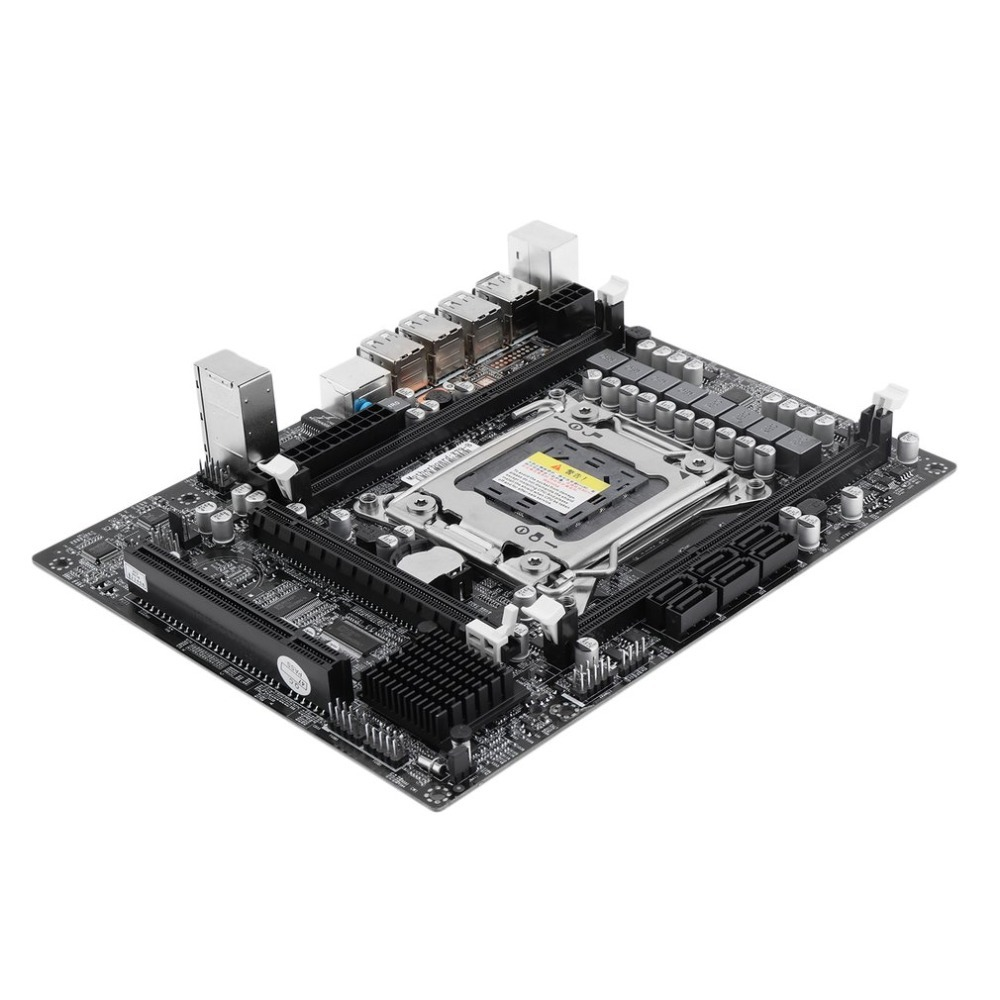Practical X79 Desktop Computer Mainboard Motherboard CPU Socket LGA 2011 Memory Type DDR3 1866MHz 1600MHz 1333MHz 1pcs new lga2066 lga 2066 motherboard mainboard soldering bga cpu socket holder with tin balls