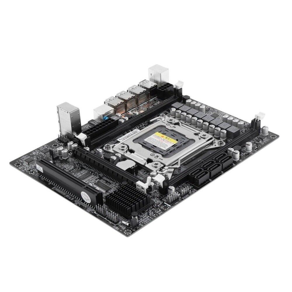 Pratique X79 Ordinateur De Bureau Carte Mère Carte Mère CPU Socket LGA 2011 Type De Mémoire DDR3 1866 mhz 1600 mhz 1333 mhz