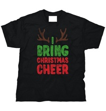 Fashion Sale 100% Cotton  Ugly Christmas Sweater Holiday Cheer Santa Claus Tee Crew Neck Short Sleeve T Shirts For Men
