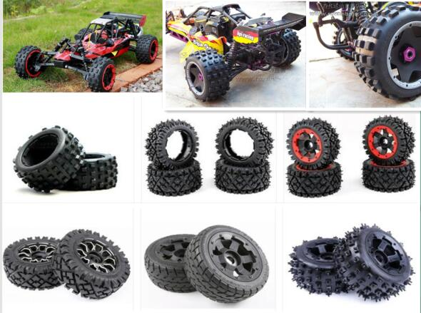 King Motor RC 1/5 Scale Brushless Electric 8S Buggy HPI Baja 5B FLUX