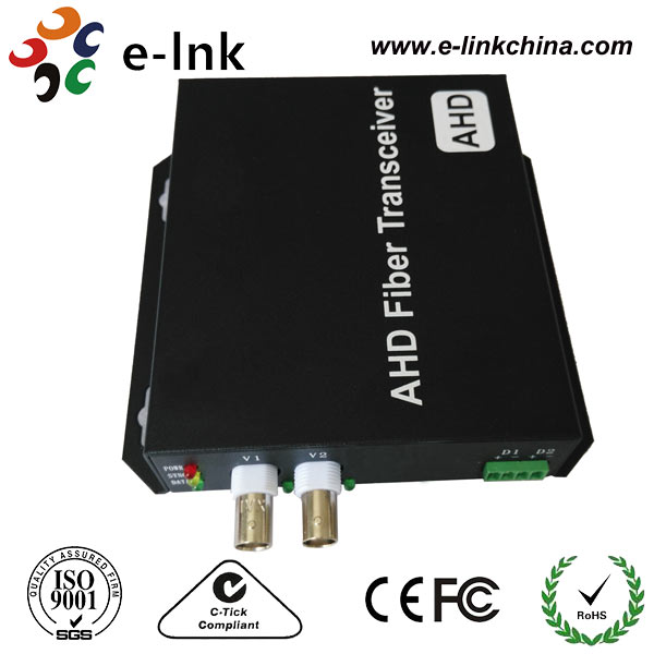 2Ch 720P AHD video to fiber Converter Single mode 20km2Ch 720P AHD video to fiber Converter Single mode 20km