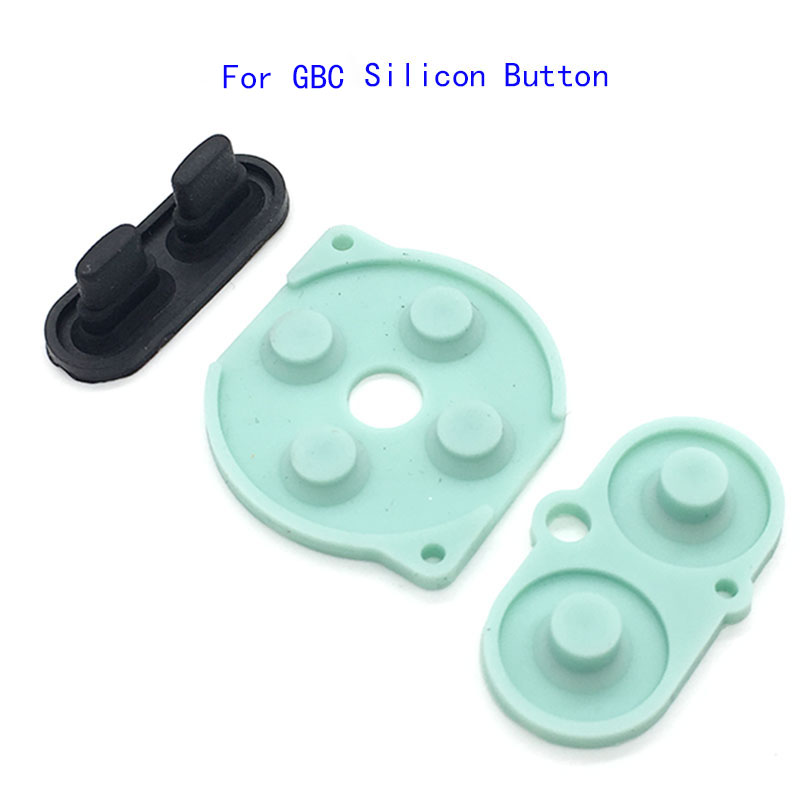 For Gameboy Color GBC console buttons repair silicon conductive Rubber pads(China)