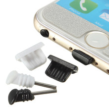Dust Proof Plugs 10set/lot 3.5mm Earphone Jack + Micro USB Charge Port Plug Cap For Samsung iPhone 5 5s 6 6s Mobile Phone(China)