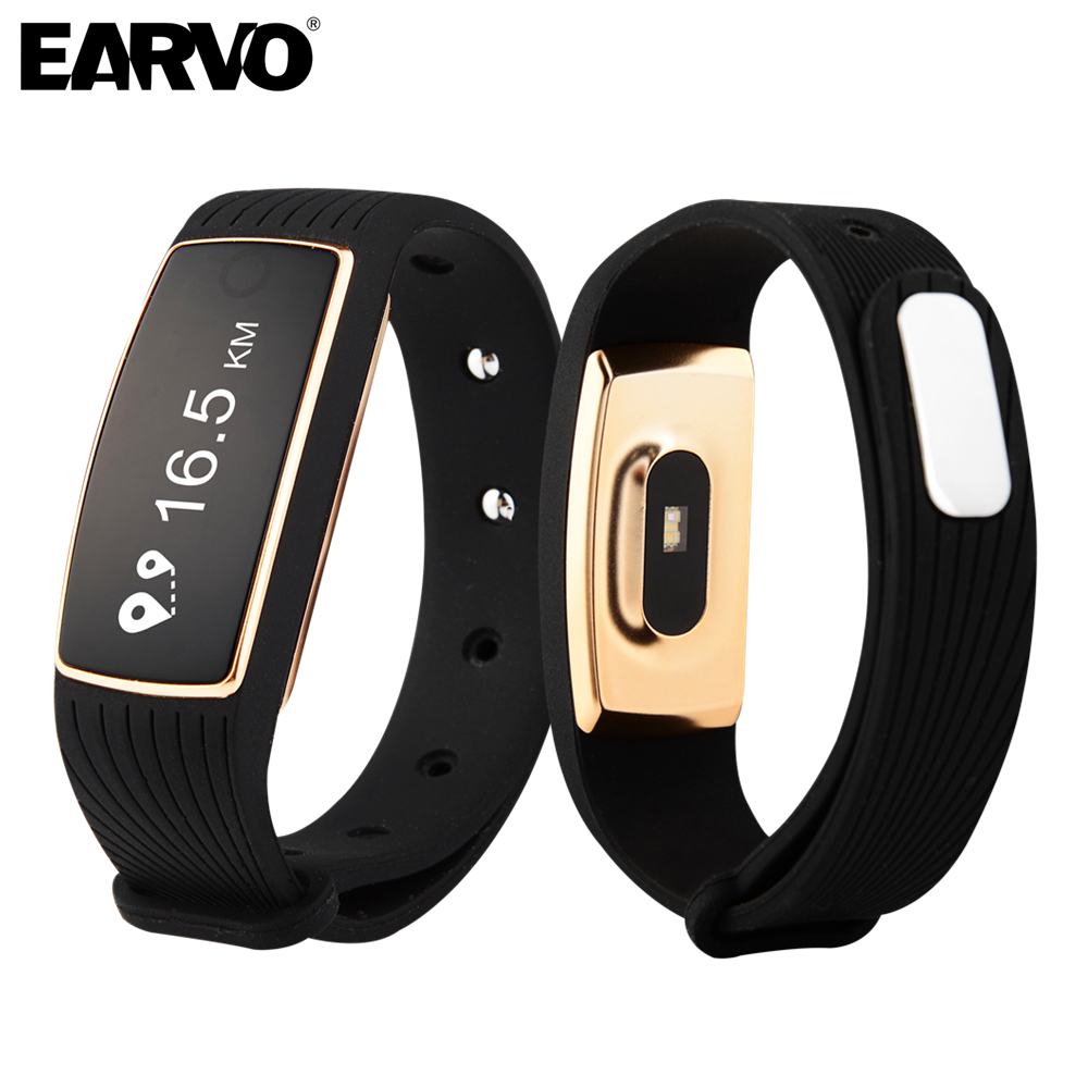 Original Smart Wristband Bracelet Band IP67 OLED Touch Screen Pulse Heart Rate M