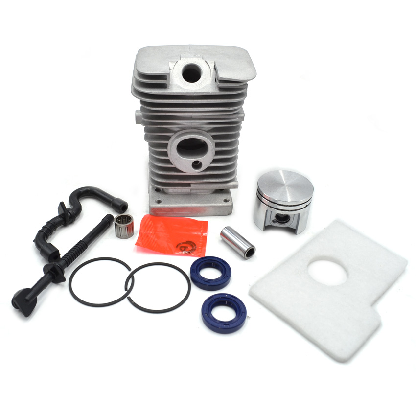 Chainsaw Cylinder Kit with Piston Rings Needle Bearing Air Fuel Oil Filters fir Stihl MS180 Chain Saw Engine Repalces  2 pcs 38mm cylinder piston rings clips rebulid repair kit for stihl 018 ms180 motosierra chainsaw