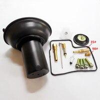 Carburetor Diapharagm ASSY W/ Repair Kit Seal for Honda Steed Shadow VT VLX 400