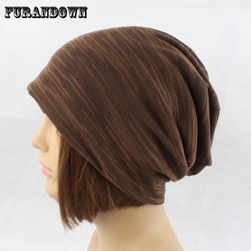 Autumn  Beanies for Ladies Women Winter Knitting Cotton Hats  Skullies Cacual Cap 2017