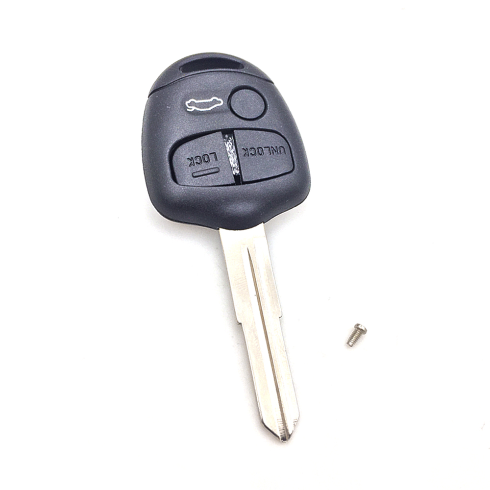Cover Mitsubishi Lancer Shell Blade-Shell-Case Replacement Auto 3-Button 1PC Car-Key-Fob