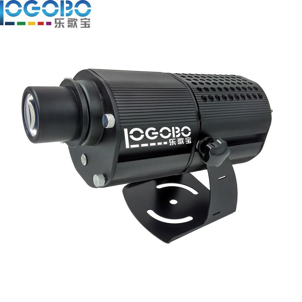 Высокий мощный открытый образ кинопроекторов преобладающим Освещение 80 Вт LED гобо узор проектор освещенные знаки и пользовательские Стекл...