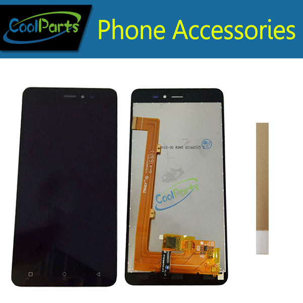 1PC/Lot High Quality For Gionee P5W LCD Display With Touch Screen Digitizer Assembly Replacement Black White Color With Tape1PC/Lot High Quality For Gionee P5W LCD Display With Touch Screen Digitizer Assembly Replacement Black White Color With Tape