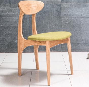 Najwyższej jakości z litego drewna jadalnia krzesło krzesła hotelowe tanie i dobre opinie Meble komercyjne Krzesło hotelowe Meble hotelowe NoEnName_Null K1011Y Antique white oak+cloth