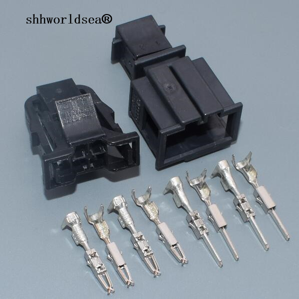 Shhworldsea broches pour VW 4way pour Audi Voiture Feu Arrière Plug Auto fil électrique connecteur plug 3B0 972 732 3B0972732 3B0972722