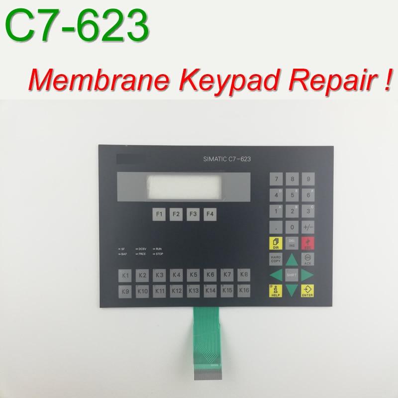 6ES7623 1DE01 0AE3 C7 623 Membrane Keypad for HMI Panel repair do it yourself Have in