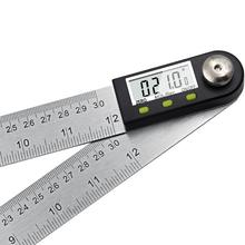 300mm 12 Digital Angle Ruler Finder Meter Protractor Inclinometer Goniometer Electronic Angle Gauge Stainless Steel