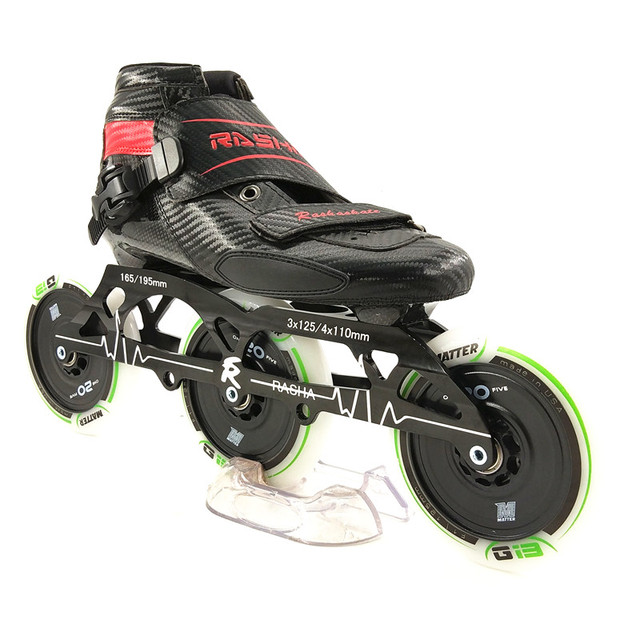 b0677871df8 Inline schaatsen schoenen koolstofvezel professionele inline rolschaatsen
