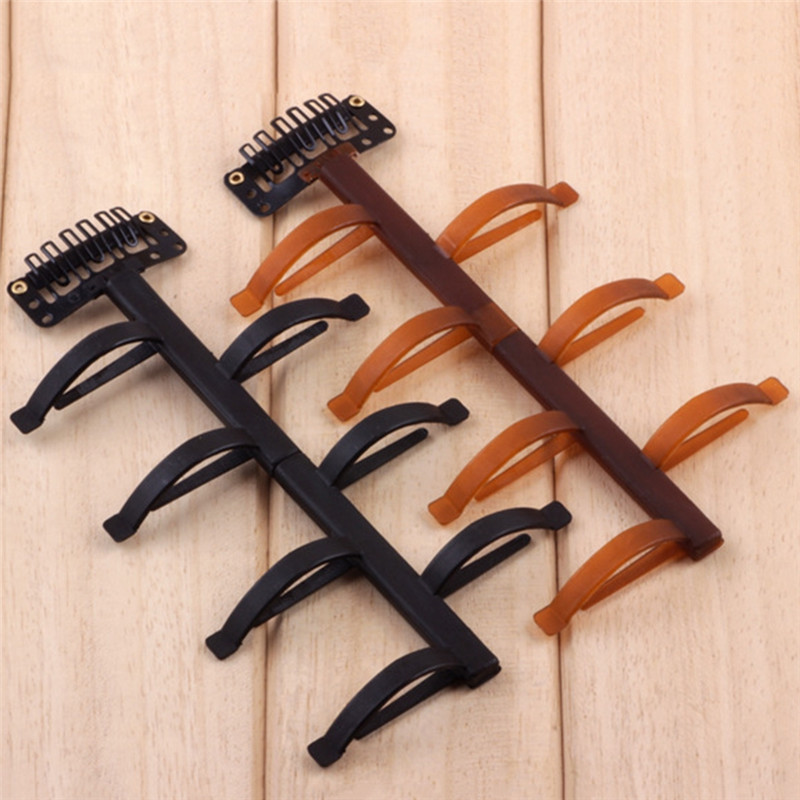 New Design Black Coffee Color Centipede Resin Hair Styling Clip Stick Bun Maker Braid Tool Hairwear Women Fashion Jewelry