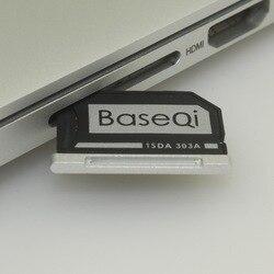 Adaptador Original BaseQi de aluminio Micro SD para MacBook Macbook Pro Retina 13 y Macbook Air 13