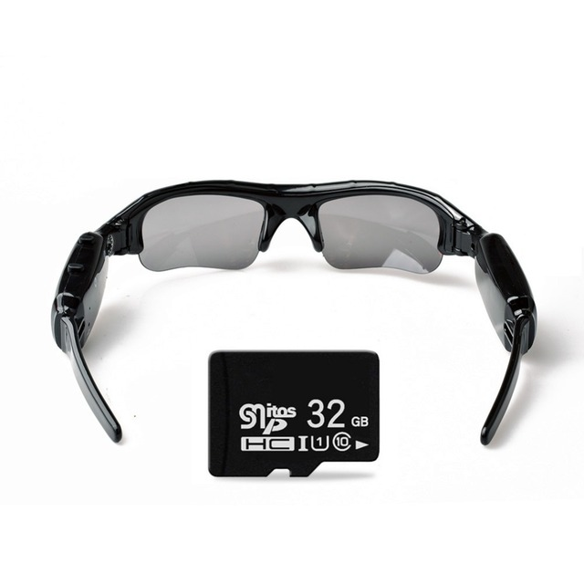 Lightdow Mini Sun Glasses Eyewear Digital Video Recorder Glasses Camera Mini Camcorder Video Sunglasses DVR 2