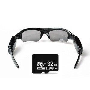 Image 3 - Lightdow Mini lunettes de soleil lunettes enregistreur vidéo numérique lunettes caméra Mini caméscope vidéo lunettes de soleil DVR