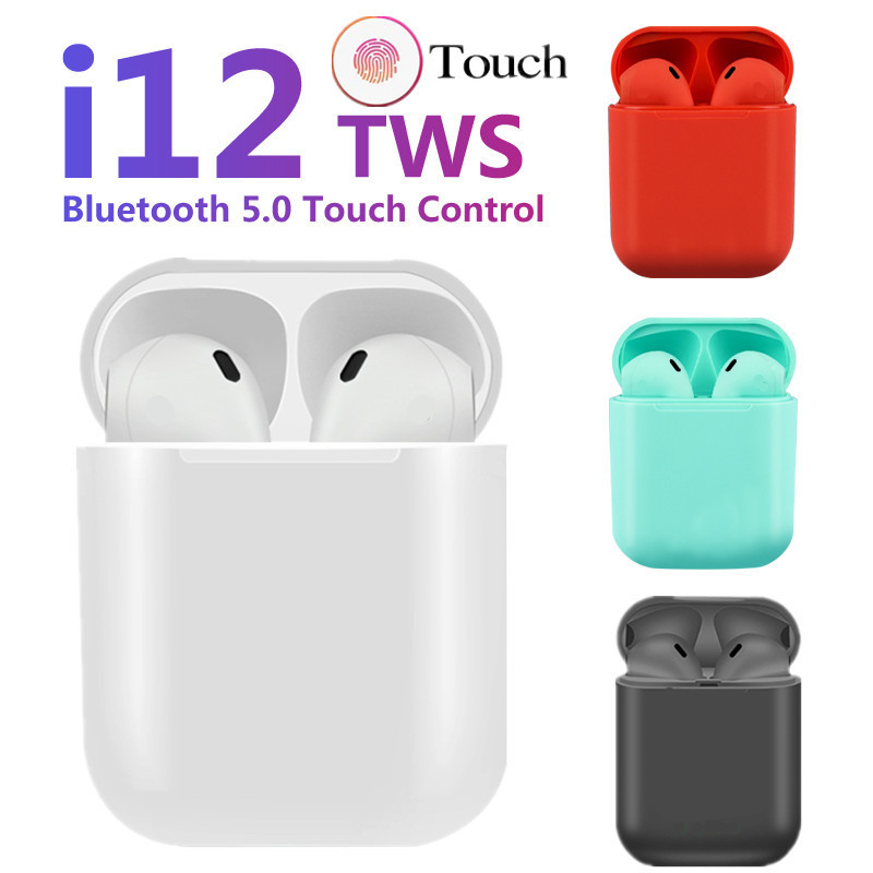 i12 <font><b>tws</b></font> Pop Up Bluetooth Earphones Wireless Touch Control Earbuds Headset i12tws not 1:1 replica i30 <font><b>tws</b></font> i20 i10 i30tws <font><b>lk</b></font>-<font><b>te9</b></font> image