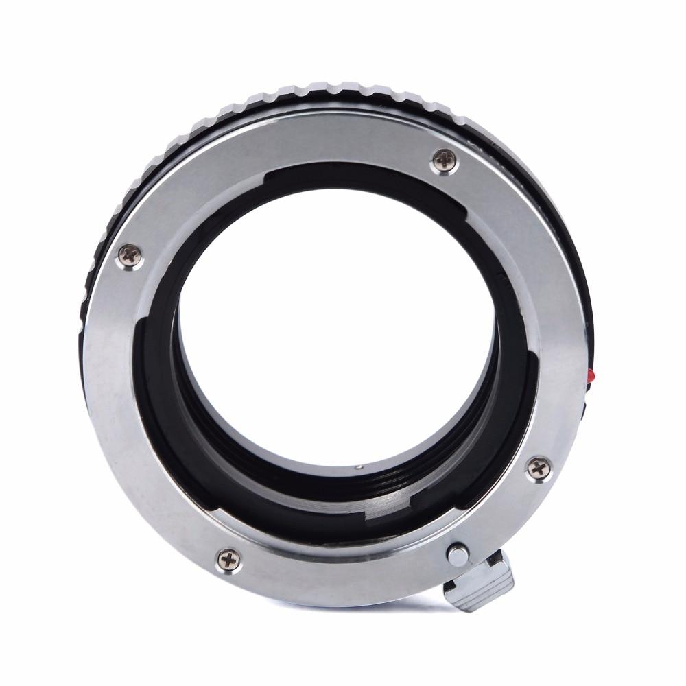 ea05291a824 este anel adaptador pode ser ligado a sua lente mas você não poderia  ajustar a abertura.