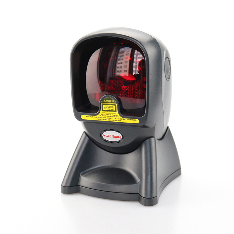 Prix pour Haute Qualité 20 Lignes Laser Desktop Plat Barcode Scanner Bar code Reader avec Interface USB pour la Vente Au Détail Magasin/Supermarché