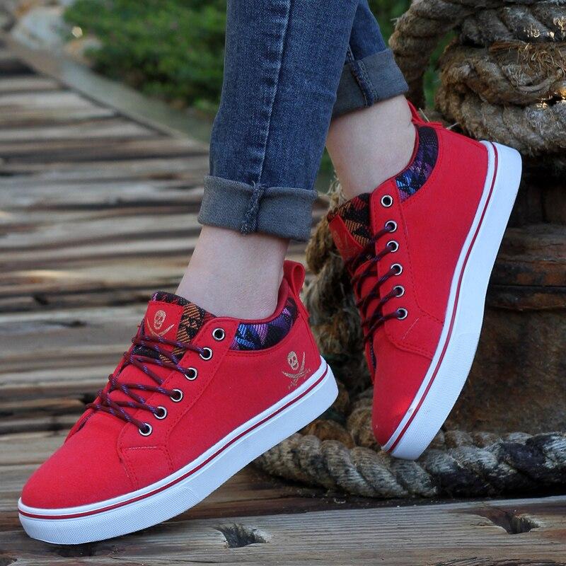 Nouveau Automne Formateurs Mujer Printemps Casual Chaussures Hommes Respirant bleu Belle Hombre Dames Plat Zapatillas Noir Femmes rouge Zapatos PkuZwXTOi