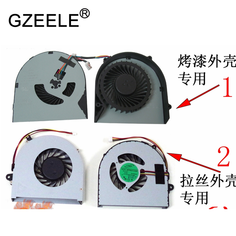 GZEELE new Laptop cpu cooling fan for lenovo G480 G480A G480M G485 G580 G585 4pins Cpu Cooler Notebook Computer AB07005HX12DB00 gzeele new laptop cpu cooling fan for samsung np530u3c 532u3c np535u3c np540u3c notebook computer replacements cpu cooling