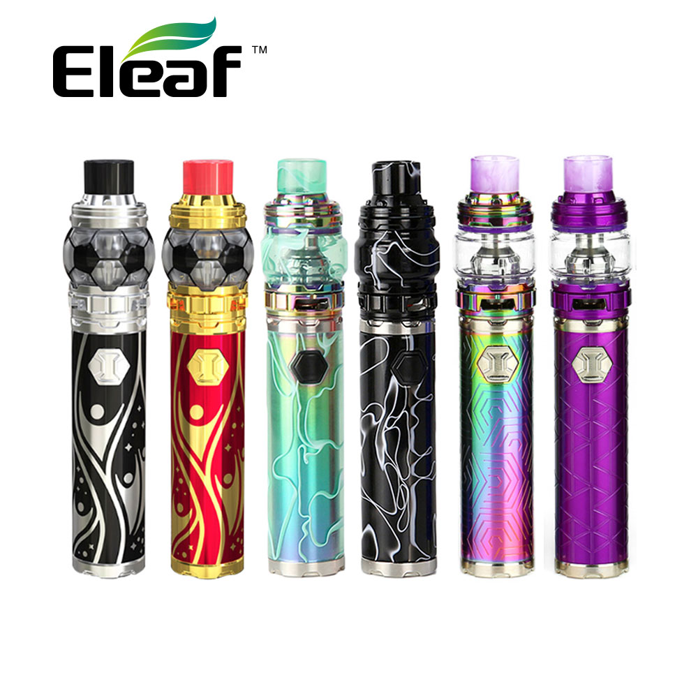 Eleaf iJust 3 Starter Kit w/3000 mAh Eleaf iJust 3 Batterie et 2 ml/6.5 ml Ello Duro Tank & HW-M/HW-N Bobine Max 80 W Vaporisateur vs Ijust s