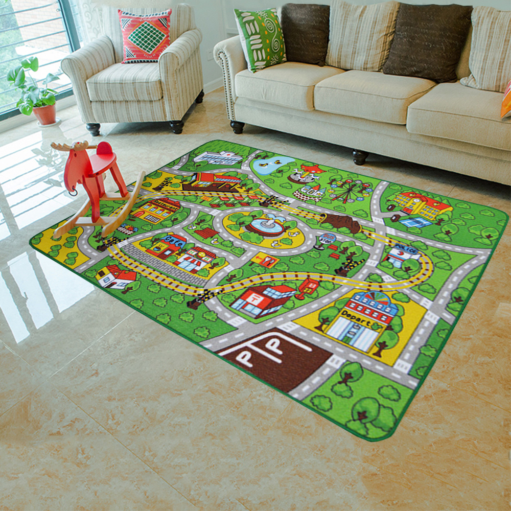 aliexpress buy yazi racing track soft carpet for children baby interest play