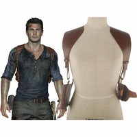 Uncharted 4 A Thief's End Nathan Drake Shoulder Holster Accessories Halloween Comic con Cosplay Costume