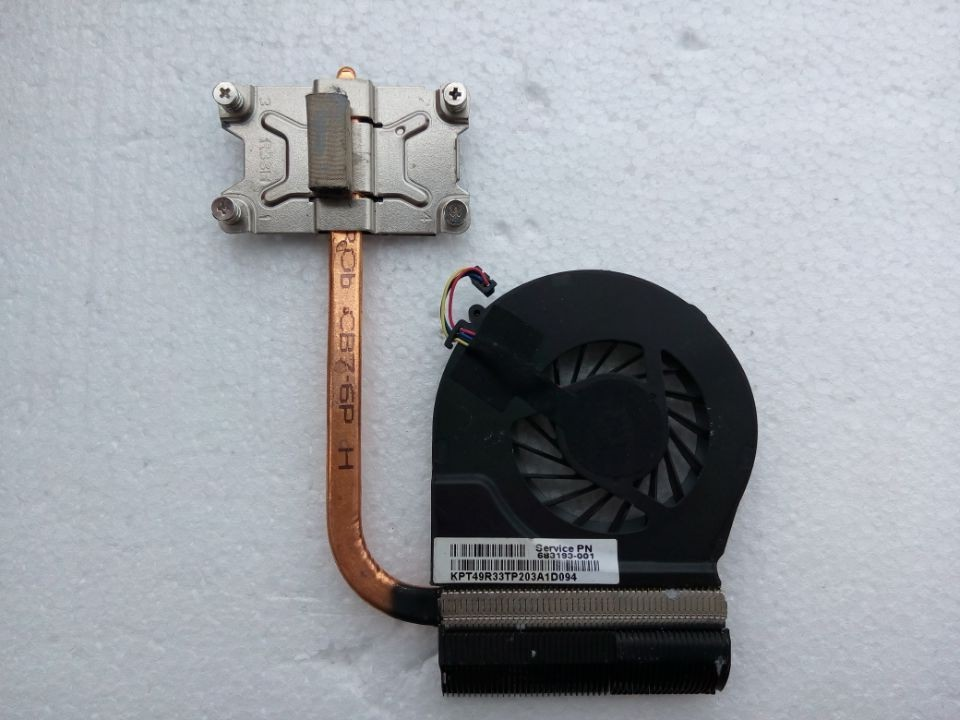 Free shipping NEW original for HP G4 G6 G4-2000 G6-2000 heatsink cooling cooler 712112-001 711471-001