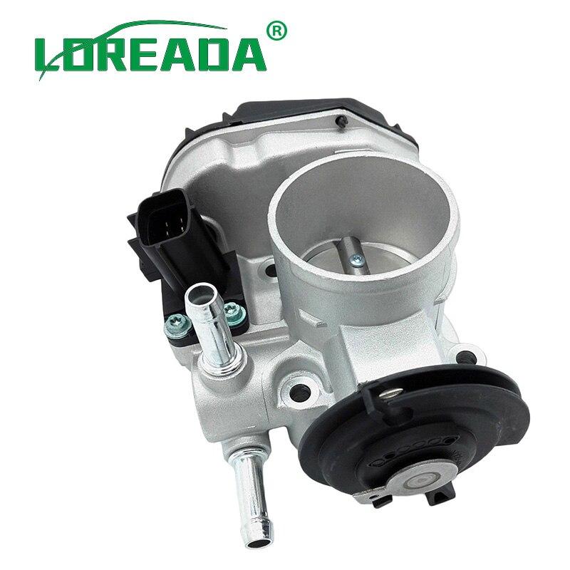 LOREADA 96394330 96815480 Throttle Body For Chevrolet Lacetti Optra J200 Daewoo Nubira 03-12 1.4i 1.6i диск переднего тормоза chevrolet lacetti j200