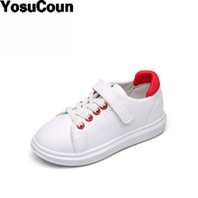 2017 Kids Shoes Boys Girls Shoes Children Shoe Baby Sneakers For Child Spring Autumn White Fashion Brand Shoes For Kid