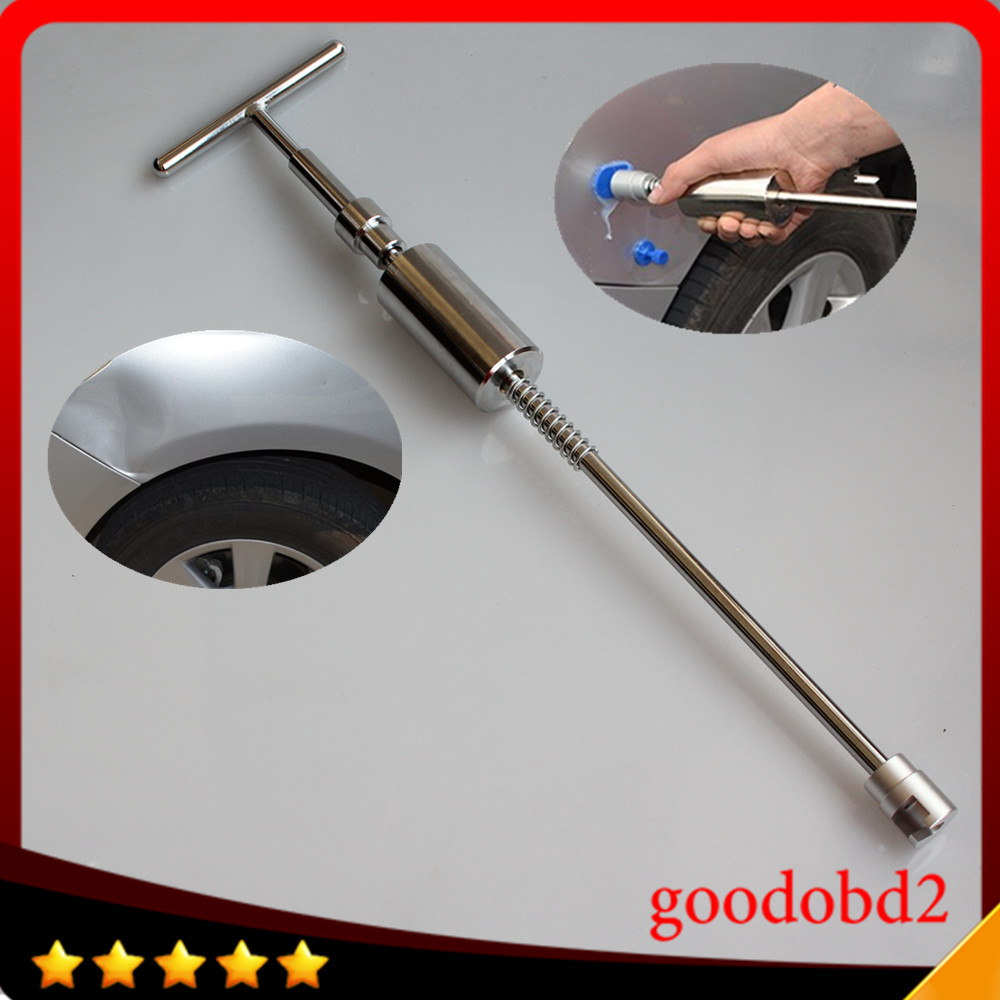 Car pdr slide Hammer T Bar repair tools Glue Puller Paintless Dent Removel Puller Tools Hand Tools Kit set 2 in 1 dent puller цена
