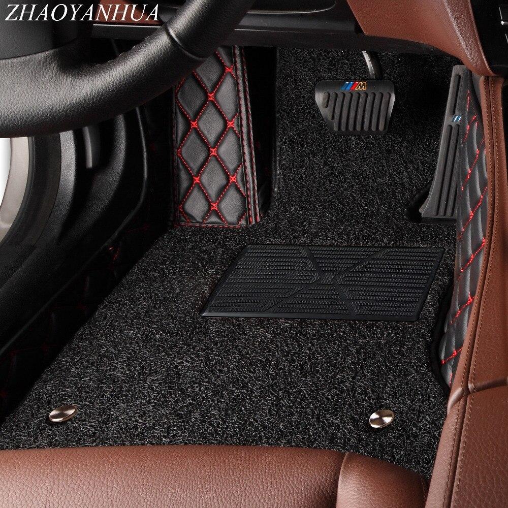 ZHAOYANHUA автомобильные коврики для Infiniti M Y50 Y51 Q70 Q70L M25 M35 M35H M37 M37X M56 M25L M30D 5D Тюнинг автомобилей вкладыши ковры (2006 )