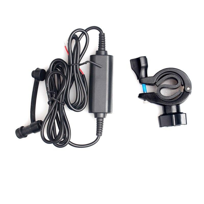 Fodsports motorrad gps navigation zubehör cradle halter mit power kabel mit montage halterung