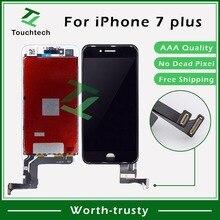 Высочайшее качество 5,5 дюймов для Apple iPhone 7 Plus lcd клоны полный дисплей с сенсорным экраном дигитайзер замена DHL