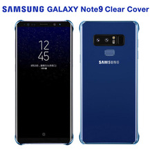 Samsung Original Transparent Plating Edge TPU Cover Phone Case For Galaxy Note9 NOTE 9 Ultra Slim Protective
