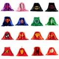 1 UNIDS Capa de Superman para Niños Spiderman Niños Cape Superhero Capes traje de Superhéroe Trajes para Niños Juego de Los Muchachos Juegos de Regalo Del Partido paño