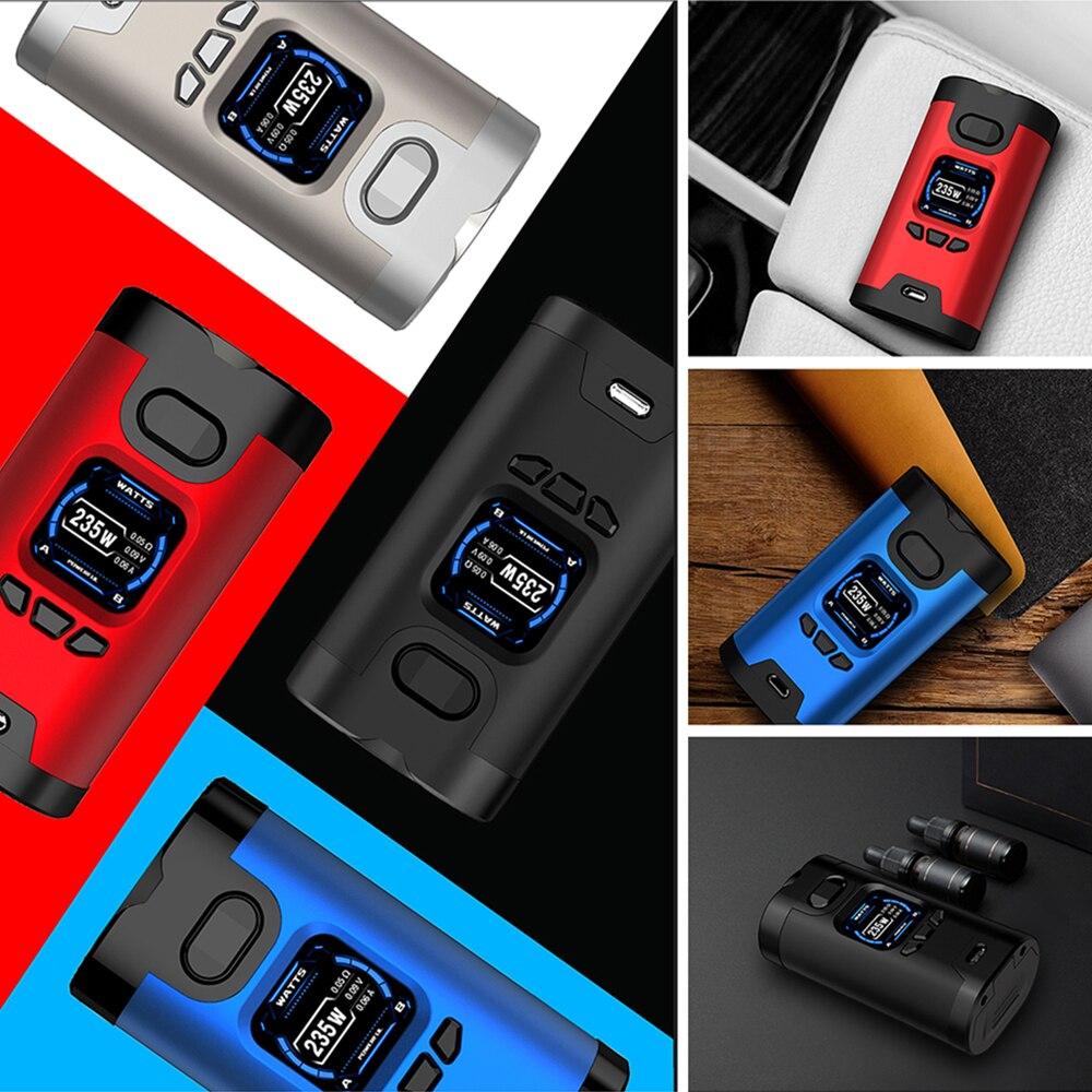 D'origine 235 w Hcigar Wildwolf E cigarette TC MOD w/Towis XT235 Chipset & 1.3 pouces Affichage Vaporisateur Boîte mod Vs Dynamo Mod/Cylon Mod - 5