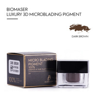 Biomaser High End Tattoo Pigment Microblading pigment for Eyebrow Permanent makeup Tatoo Pigment Brown Tattoo Pigmento