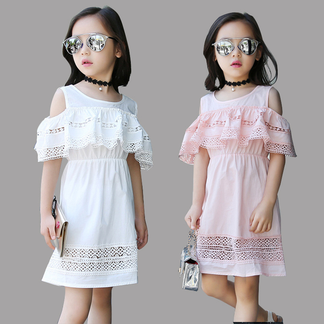45afe07f3 Children Princess Party Dresses For Girls Ball Gowns Summer Off ...