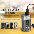 100% Original Wismec Reuleaux RX300 TC 300 W Mod Grande Display OLED Reuleaux RX300W 18650 Caixa Mod Atualizado Reuleaux RX200 Mod