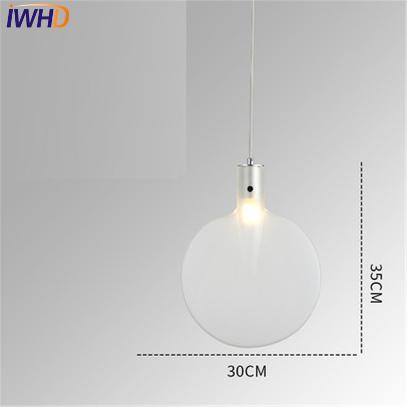 Iwhd Color Creative Table Tennis Bat Droplight Modern Led Pendant Light Fixtures For Dining Room Hanging Lamp Home Lighting In Lights From
